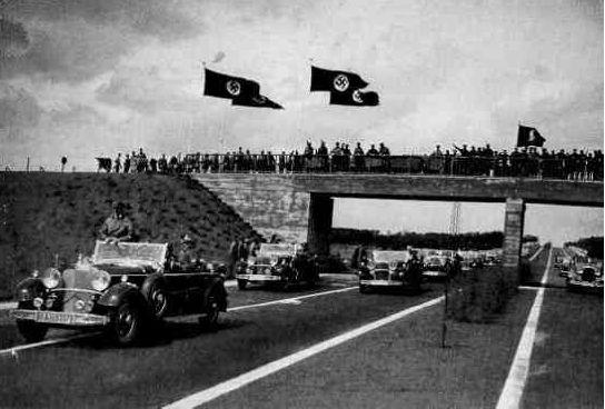 Hitler autobahn social agenda hid plans for fascist global agenda