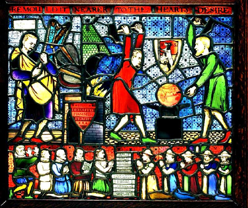 The Fabian Society Window