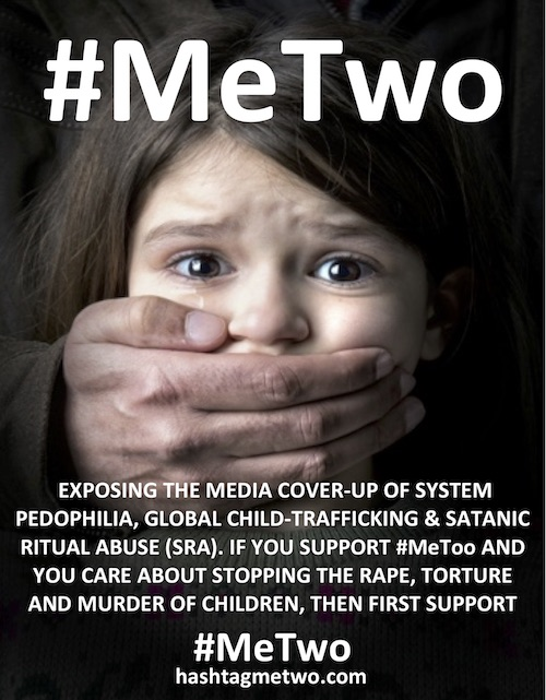 The Real #MeTwo – THE GREAT CHILD ABUSE SOCIAL MEDIA COVER-UP